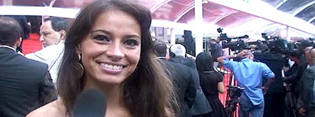 Repórter por um dia: Musa arranca revelações dos atletas (reprodução Rede Globo)