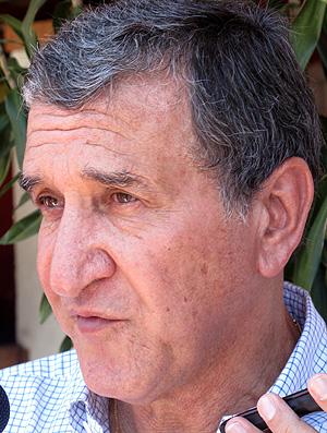 Parreira reunião de treinadores (Foto: Fred Huber / Globoesporte.com)
