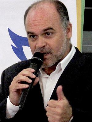 mauricio assumpção presidente do botafogo (Foto: Fred Huber / Globoesporte.com)
