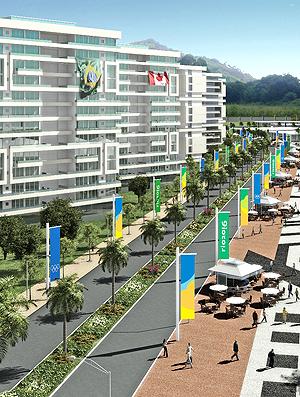 Rua Carioca Vila dos Atletas Rio 2016