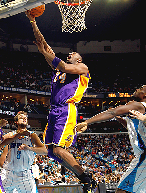 Kobe Bryant NBA Lakers x Hornets