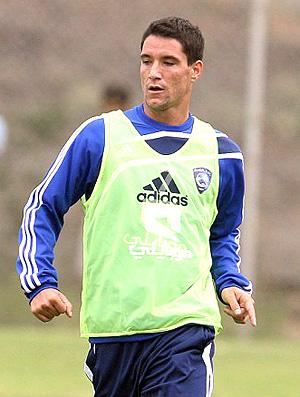Thiago Neves no treino do Al-Hilal