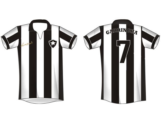 camisa Garrincha projeto Botafogo