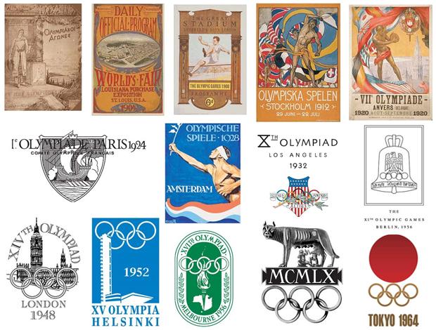 Logos das Olimpíadas