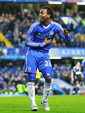 Daniel Sturridge comemora gol do Chelsea contra o Ipswich Town (Foto: Getty Images)
