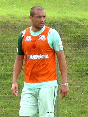 Marcel no treino do Vasco  (Foto: Fred Huber / GLOBOESPORTE.COM)
