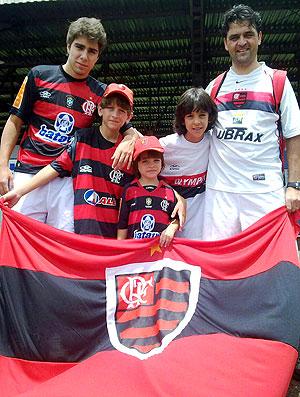 torcida Fla Londrina no treino do Flamengo
