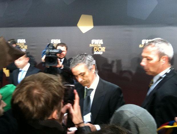chegada de Mourinho ao prêmio Bola de Ouro da FIFA