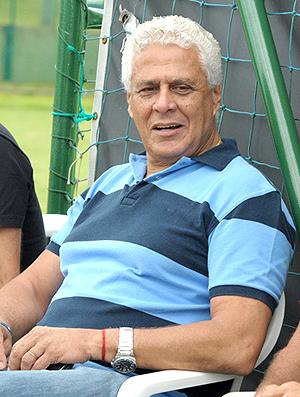 Roberto Dinamite no treino do Vasco com PC Gusmão (Foto: Marcelo Sadio / Site Oficial do Vasco da Gama)