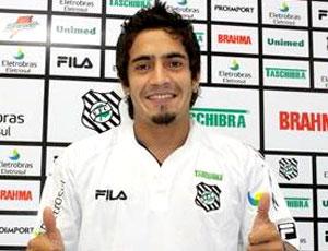 Wilson Pittoni apresentado no Figueirense (Foto: Reprodução / Site Oficial)