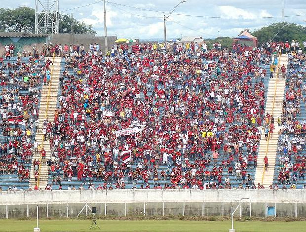 Torcida Flamengo estádio do Café