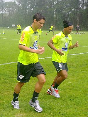 Thiago Neves Ronaldinho Flamengo Londrina