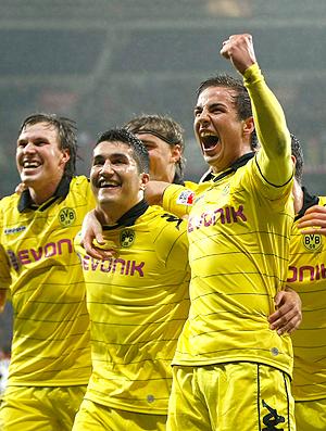 Kevin Grosskreutz Nuri Sahin Mario Goetze gol Borussia