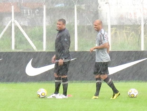 Ronaldo treino Corinthians
