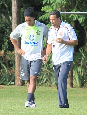 Luxemburgo Ronaldinho Flamengo Londrina