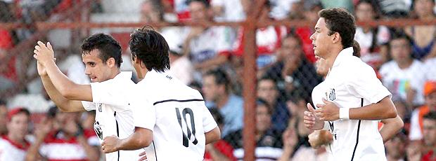 Maikon Leite gol Santos