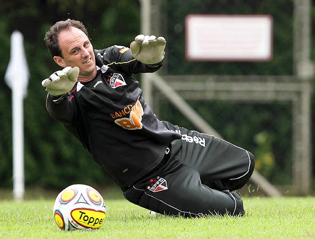 Rogerio Ceni treino São Paulo