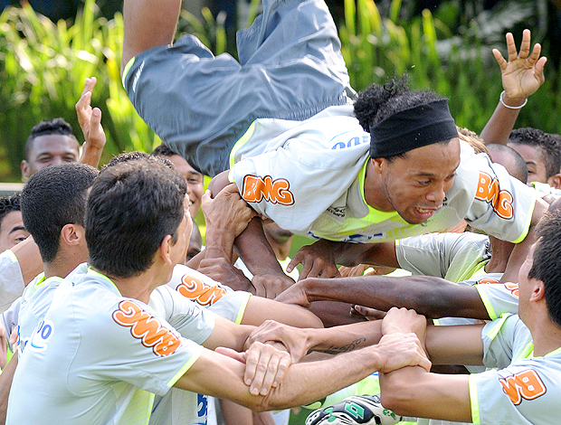 Ronaldinho Batismo Flamengo Londrina