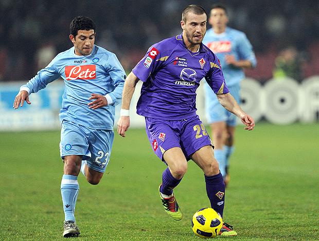 Walter Grgano Lorenzo De Silvestri Napoli x Fiorentina