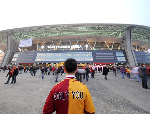 Fotos do estádio do Galatasaray