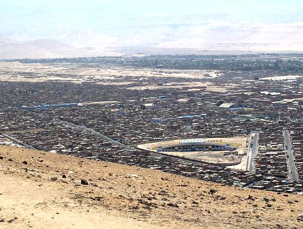 morro de Tacna no Peru