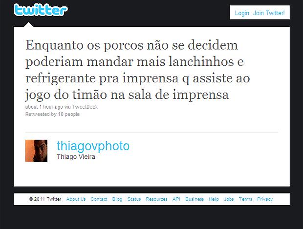 Twitter Thiago Vieira