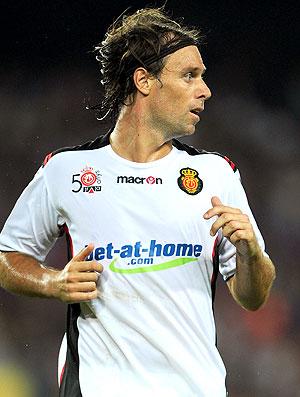 Fernando Cavenaghi na partida do Mallorca
