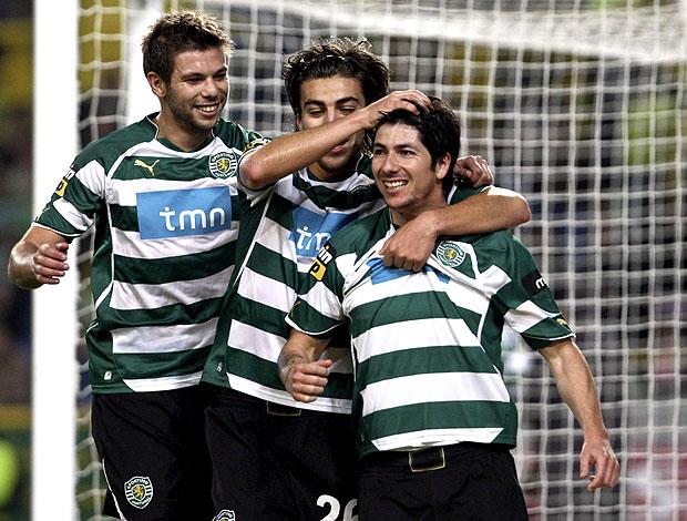 Valdes comemora gol do Sporting