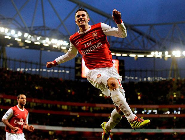 Van Persie gol Arsenal