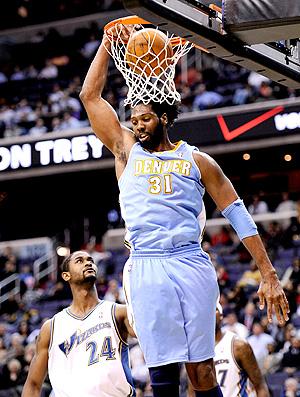 basquete nba nene hilario denver nuggets washington wizards