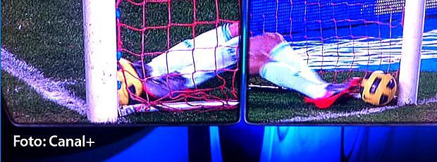 FRAME gol de Luis Fabiano anulado contra o Real Madrid