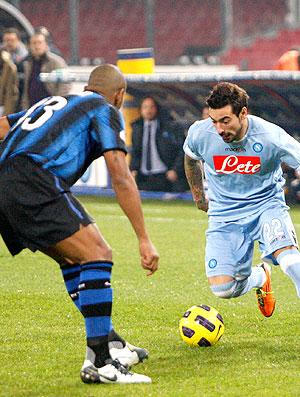 Maicon Ezequiel Lavezzi Inter de milão x Napoli