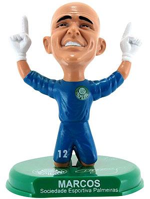 boneco do goleiro Marcos do Palmeiras