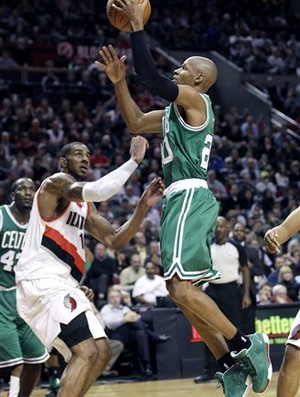 Ray Allen, armador do Boston Celtics