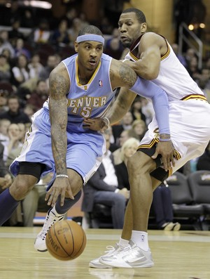 Carmelo Anthony, astro do Denver Nuggets