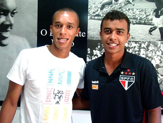 Luiz Eduardo com Miranda do São Paulo