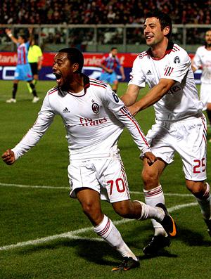 robinho milan x Catania gol