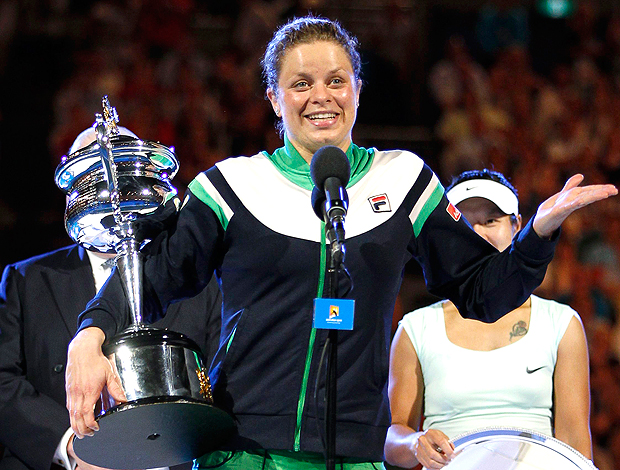 Kim Clijsters é campeã do Australian Open