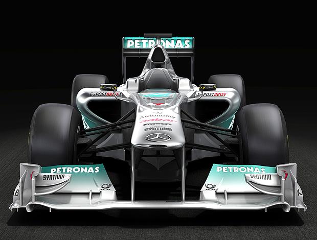novo carro Mercedes F1