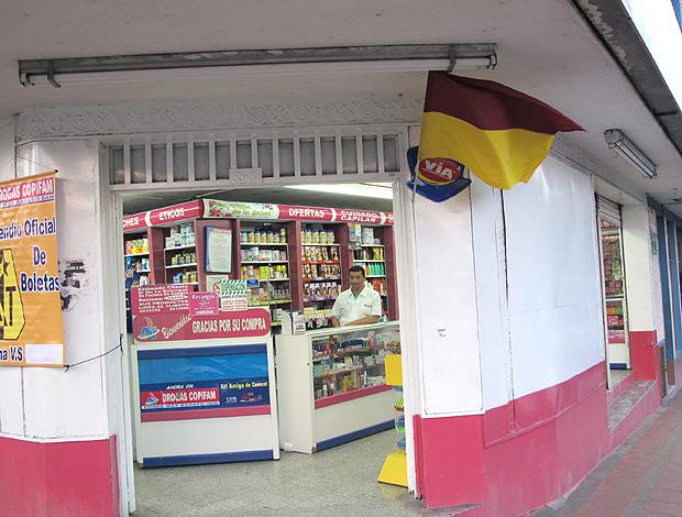 Farmácia vende ingressos para Tolima x  corinthians