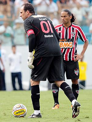rogerio ceni Santos x São Paulo