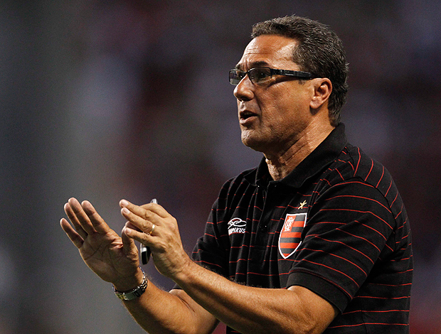 vanderlei luxemburgo flamengo x vasco (Foto: Jorge William/Globo)