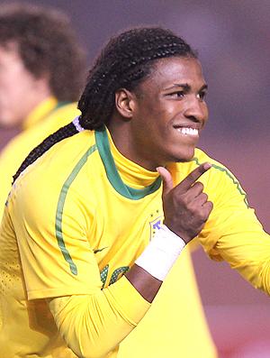 Diego Mauricio gol Seleção Sub-20 (Foto: Mowa)