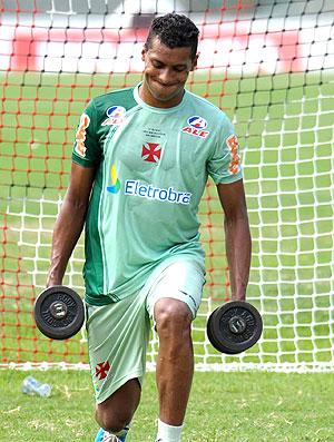 Elton no treino do Vasco (Foto: Marcelo Sadio / Site Oficial do Vasco da Gama)
