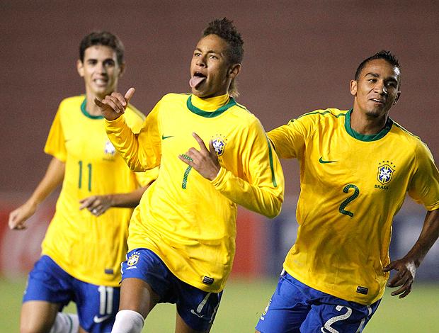 Neymar gol Brasil x Chile