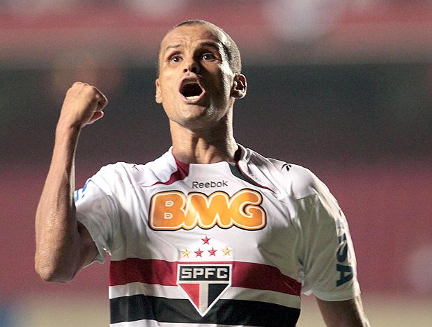 Rivaldo gol São Paulo (Foto: Ag. Estado)