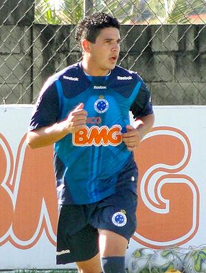 Diego Renan Treino Cruzeiro (Foto: Fernando Martins / Globoesporte.com)
