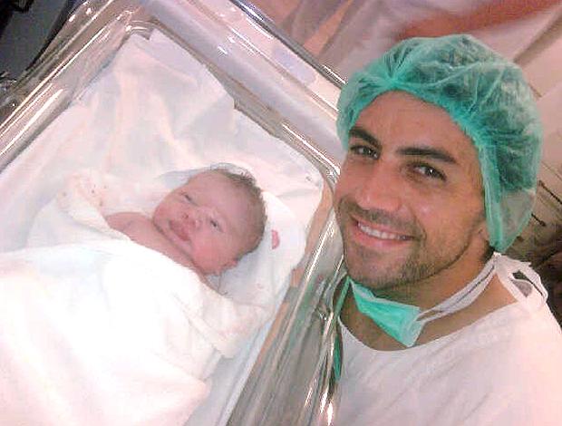 Filho Ricardo Berna (Foto: Reprodução)