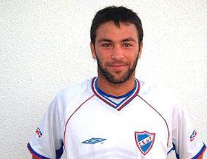 Horacio Peralta jogador do Nacional do Uruguai (Foto: Divulgação)