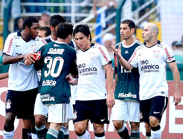 Alessandro Kleber Corinthians x Palmeiras (Foto: Marcos Ribolli / Globoesporte.com)